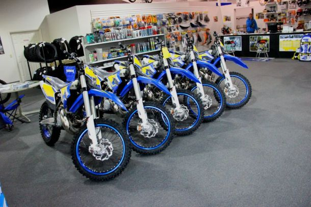 GDR has Husaberg models on the floor and ready to roll!