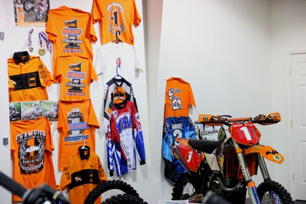 GDR and PG have supported some of the top riders in the world and have the wall of fame to prove it.