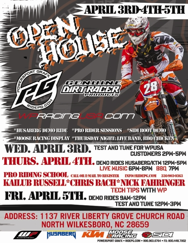 2013 Open House Flyer revised